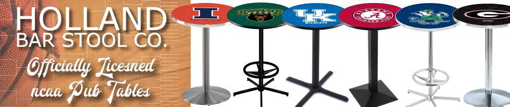 NCAA Holland Bar Stool Pub Tables