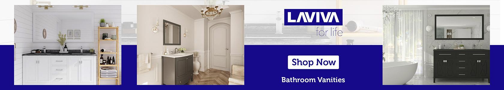 LAVIVA - Bathroom Vanities banner