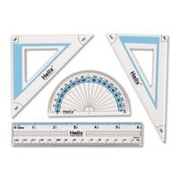 Triangular Scales, Protractors & Templates