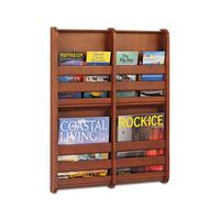 Literature Display Wall Racks