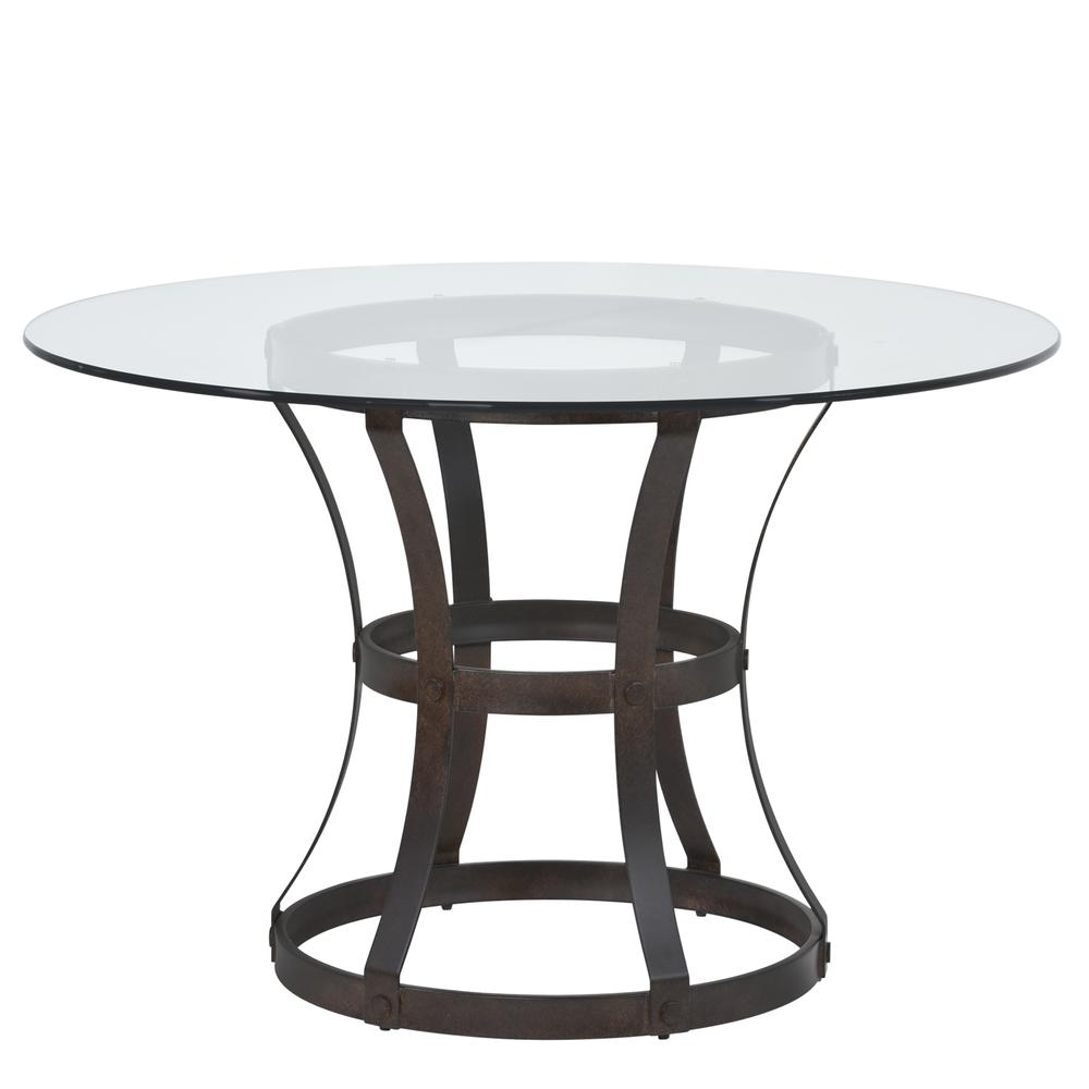 Armen Living Vancouver Round Dining Table in Auburn Bay  : 107lcvadibaab from www.ebay.com size 1000 x 1000 jpeg 166kB