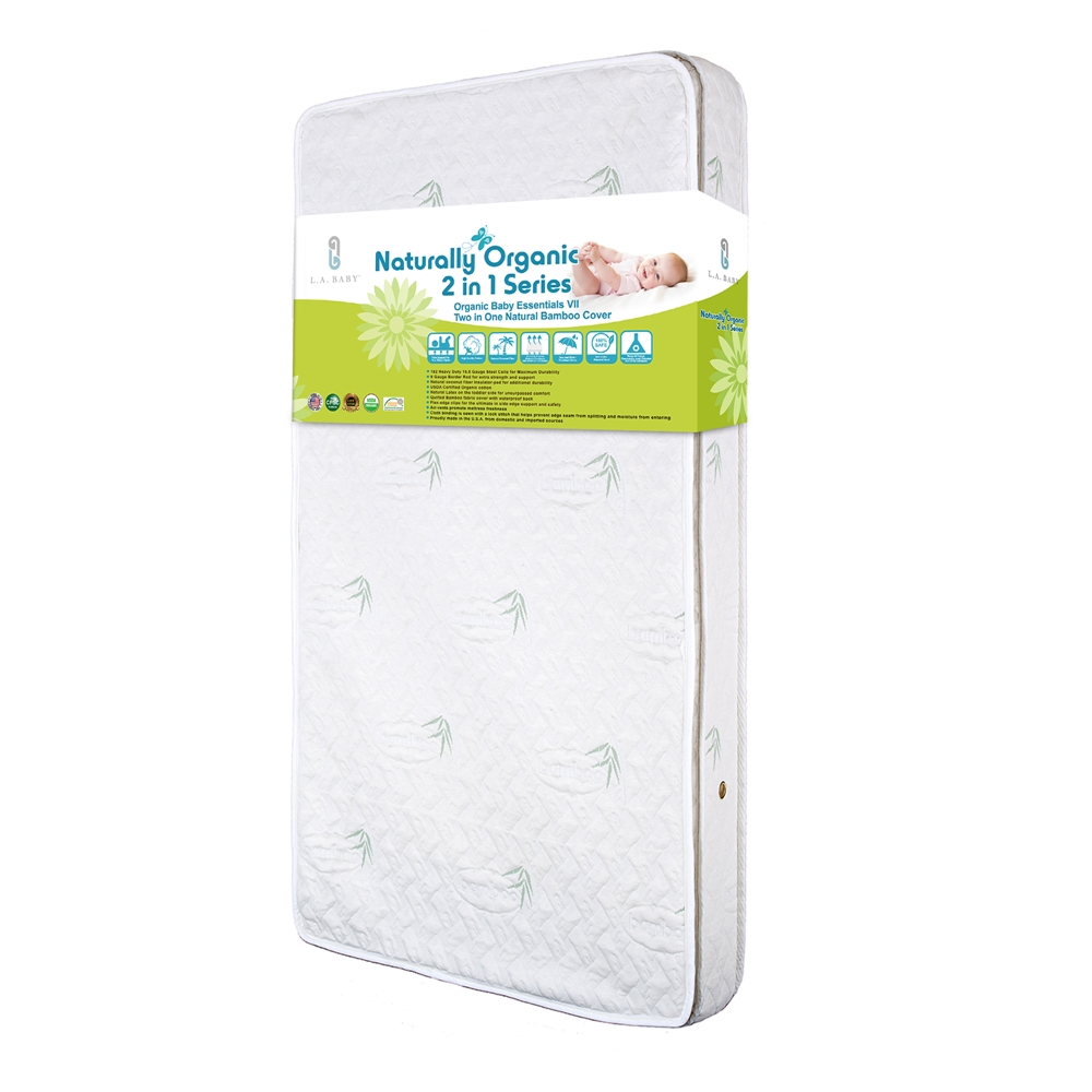 La Baby Naturally Organic Cotton I Mattress