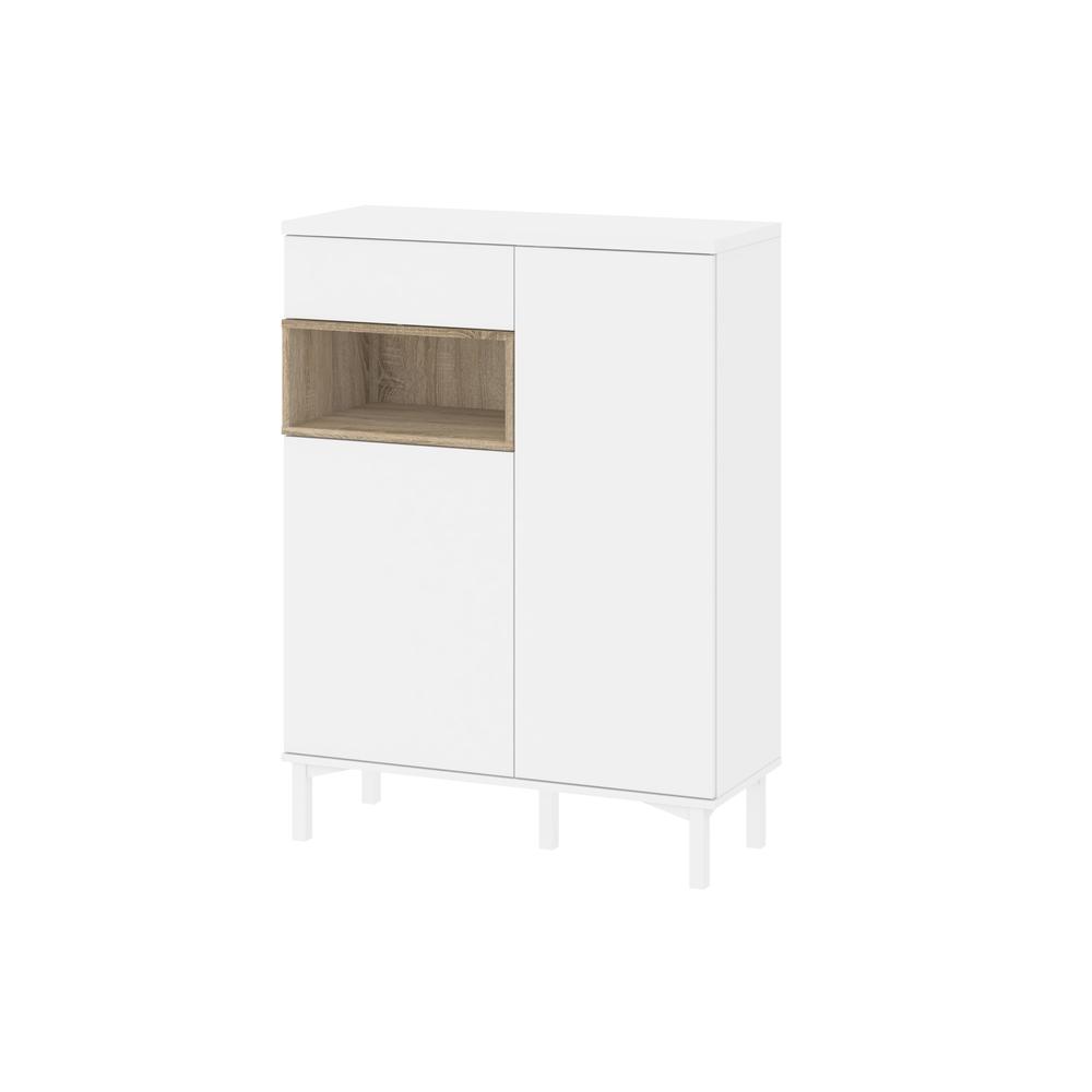 Tvilum aberdeen 1 drawer and 2 door sideboard white oak - Tvilum sideboard ...