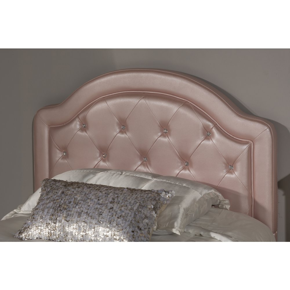 Details About Karley Headboard Twin Frame Included Pink Faux Leather