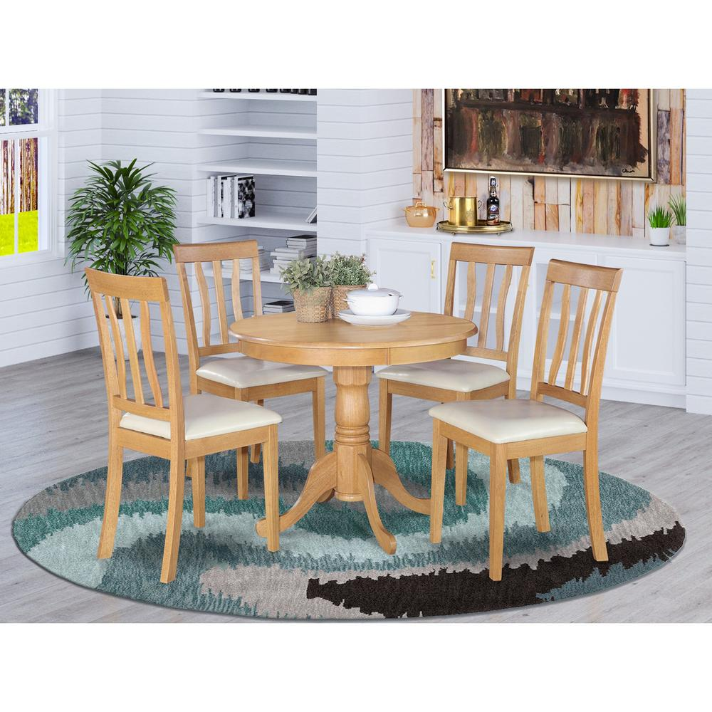 5 pc kitchen table set small kitchen table plus 4 dining chairs