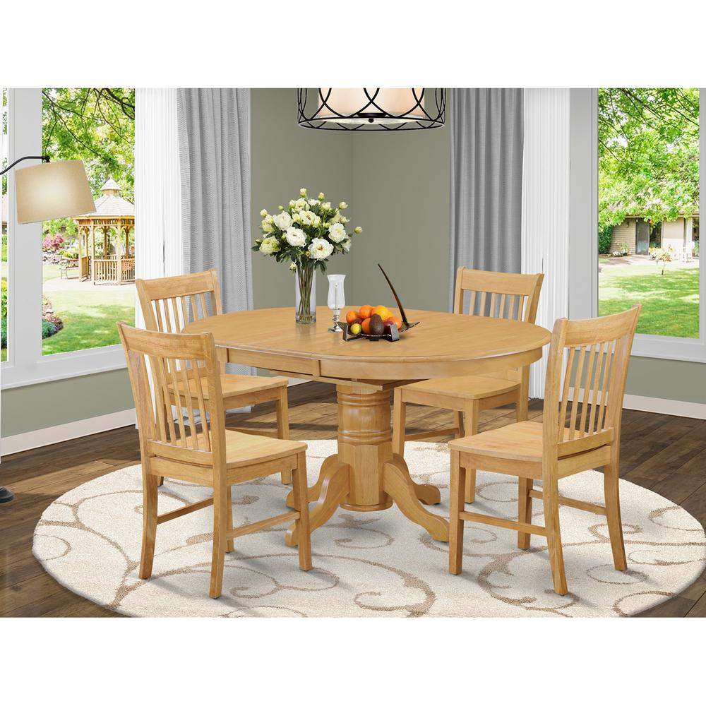 Modern 5pc Dining Table Set Kitchen Dinette Chairs: Small Kitchen Table And 4 Dining