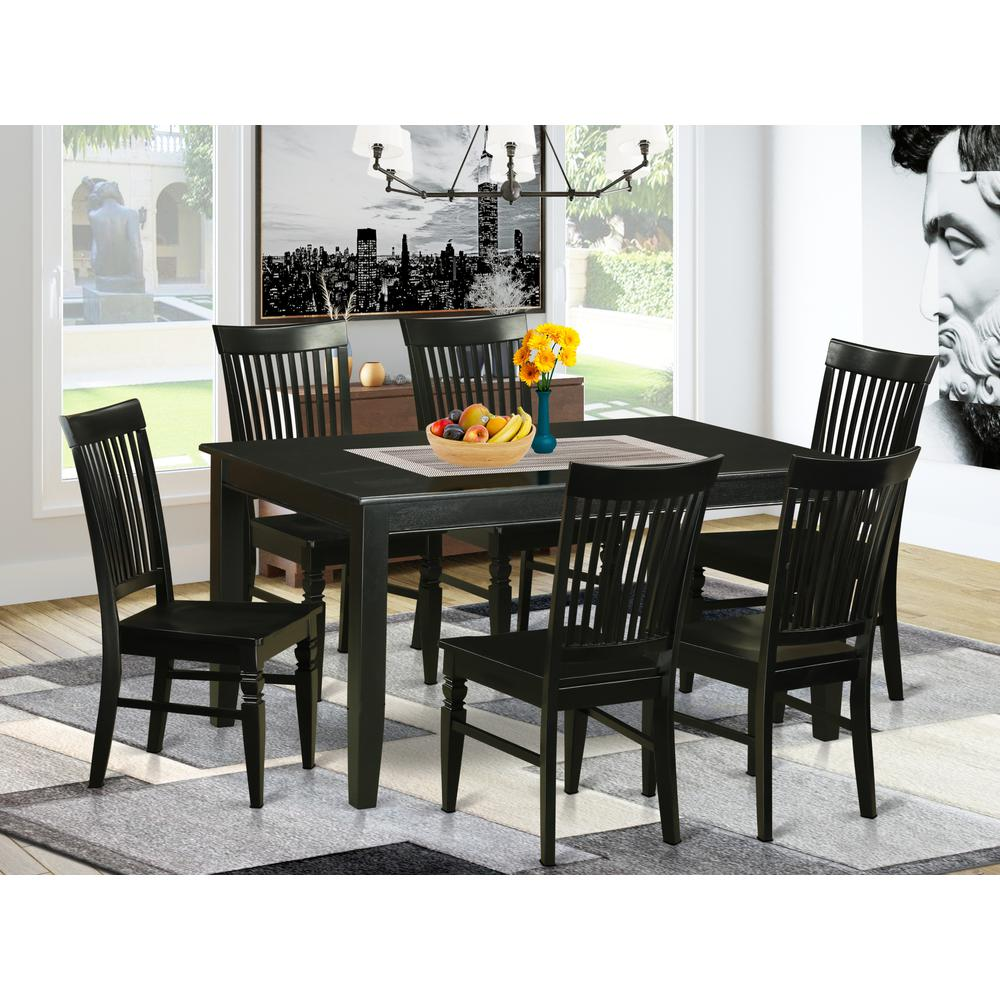 Kitchen Table With 6 Chairs: 7 Pcs Dining Room Sets -Small Kitchen Table And 6 Dining