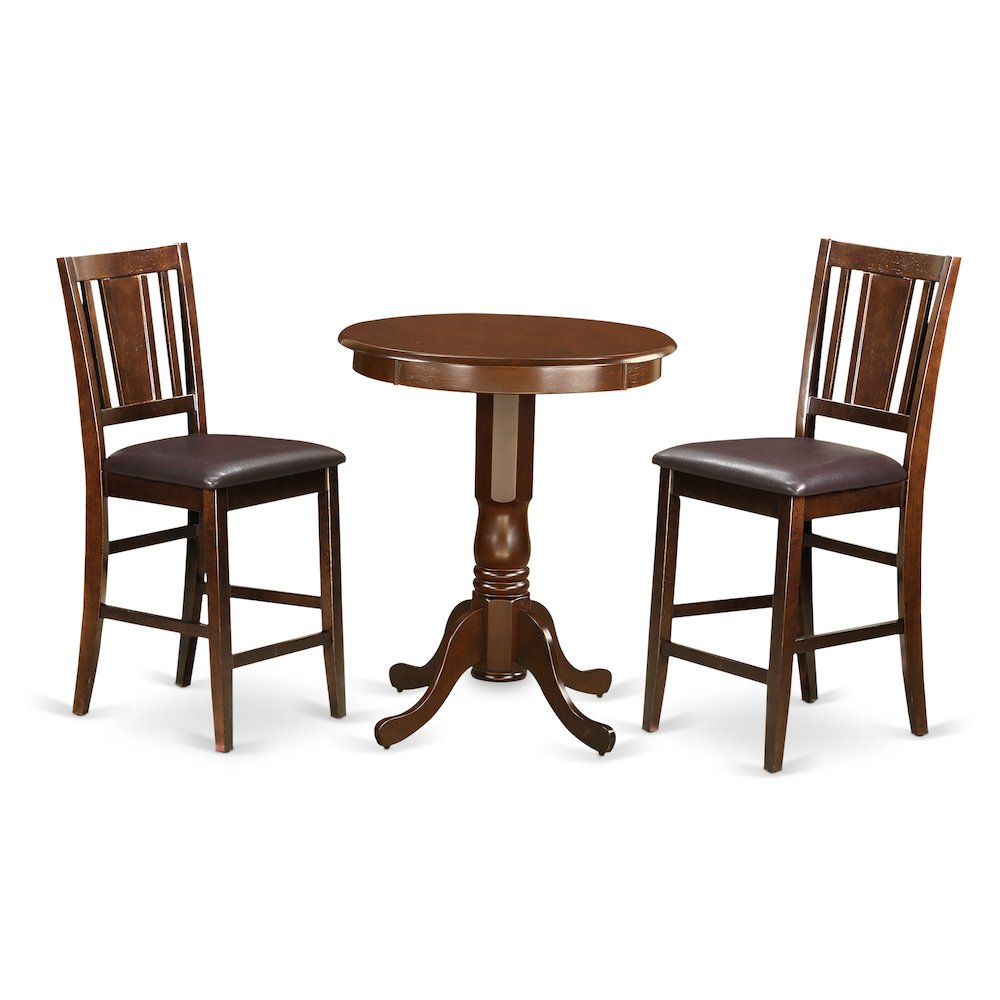 High Table With Stools: High Table And 2 Kitchen Bar Stool