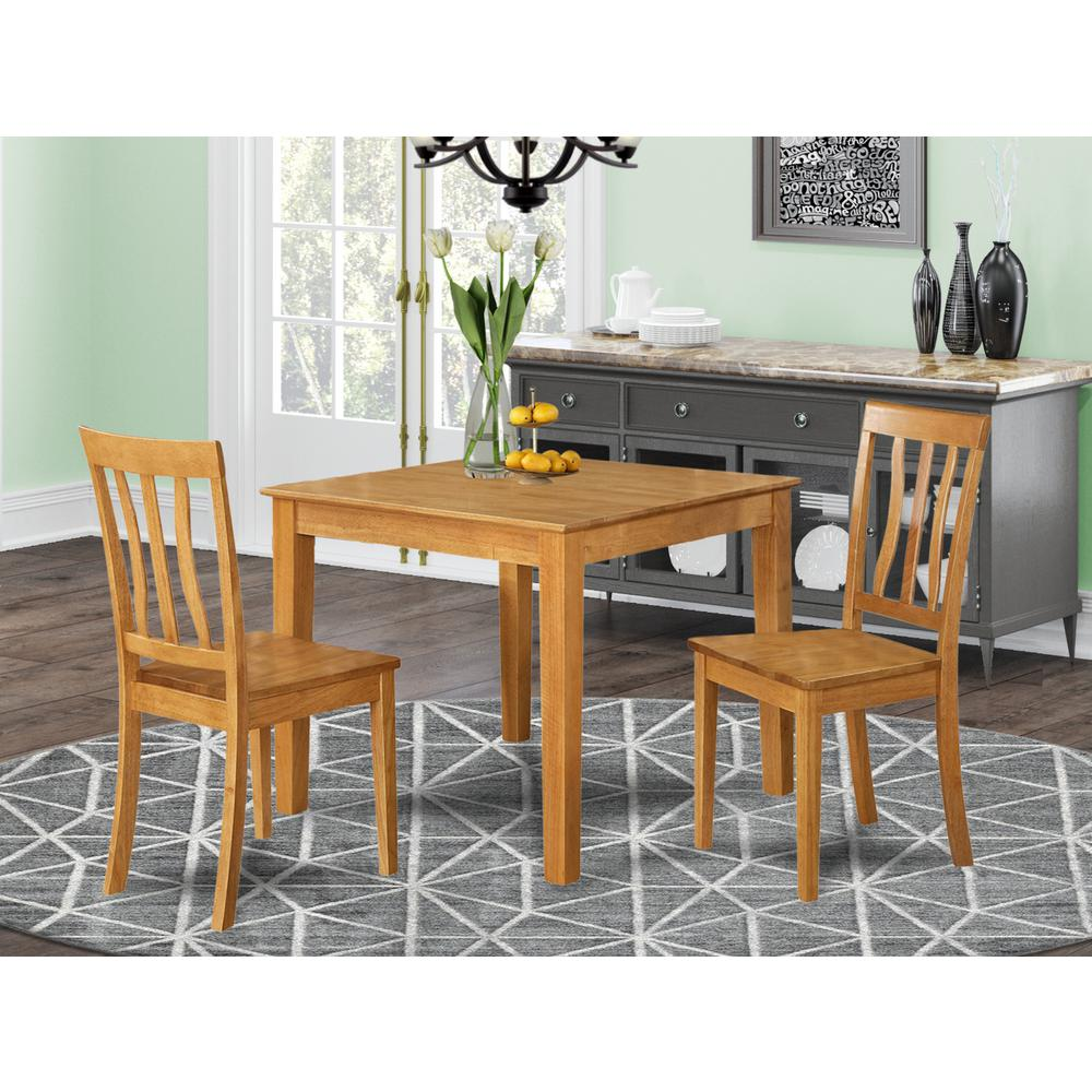 Square Kitchen Table And Chairs: 3 Pc Small Kitchen Table And Chairs Set -square Kitchen