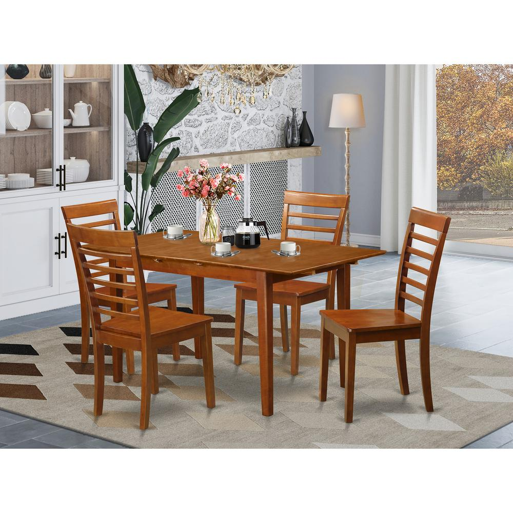 5 PC Dinette Set For Small Spaces