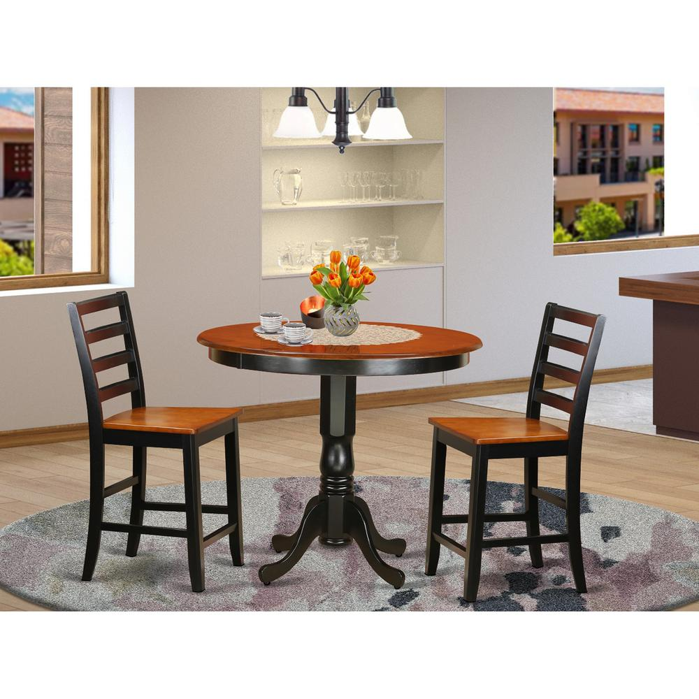 High Dining Table And Chairs: 3 PC Counter Height Dining Set