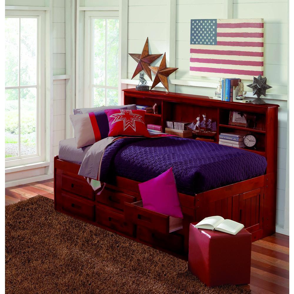 Twin Bookcase Day Bed W 6 Drawer Under Bed Storage Ebay