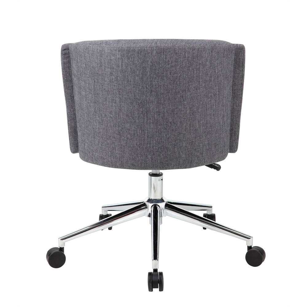 Boss Metro Club Desk Chair Slate Grey