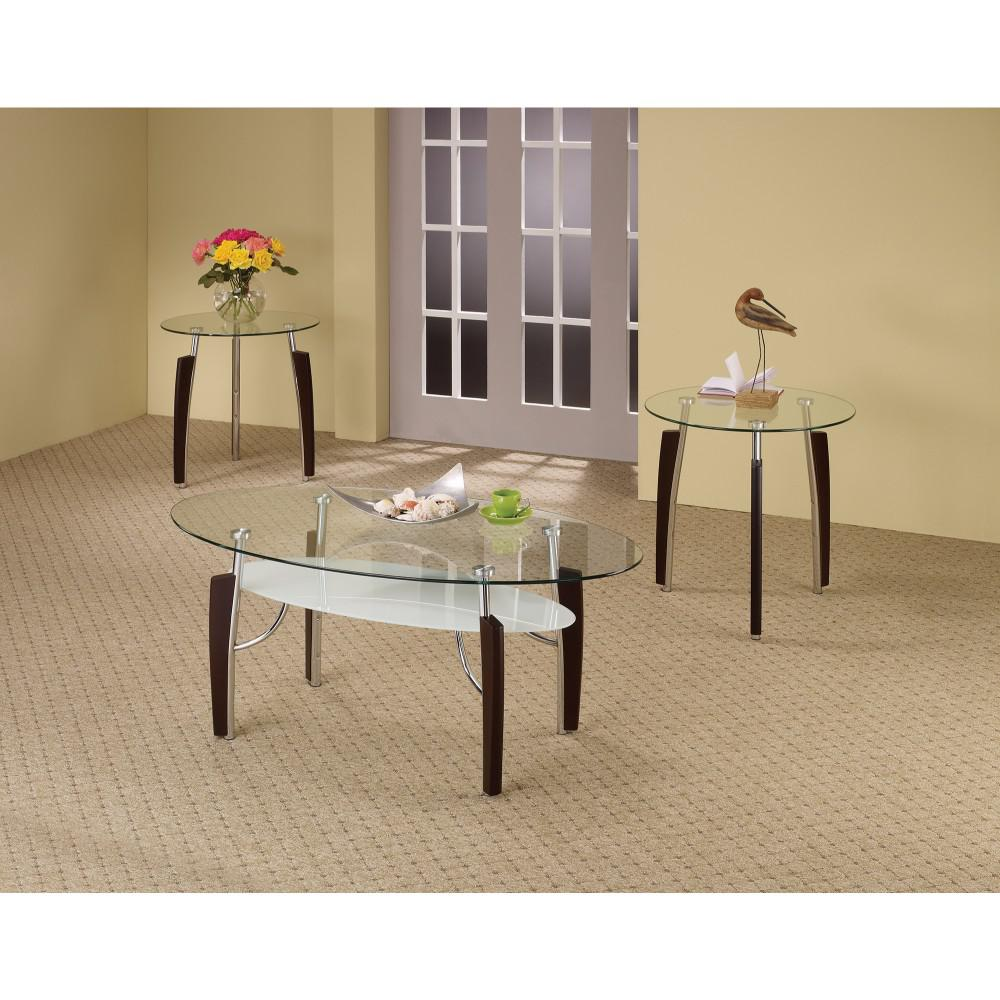 Sturdy  3-Piece Contemporary occasional table set  fast delivery