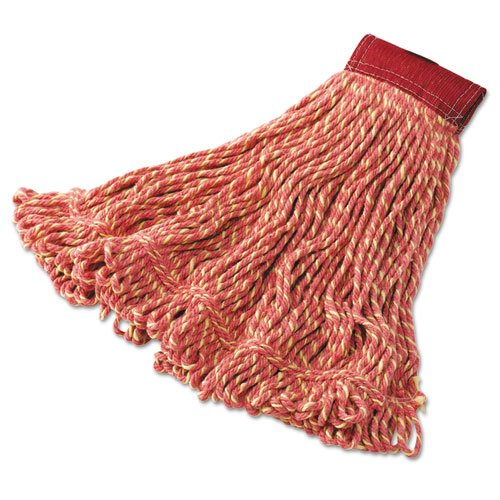 Super Stitch Blend Mop Heads Cotton Synthetic Red Large 86876155044 Ebay