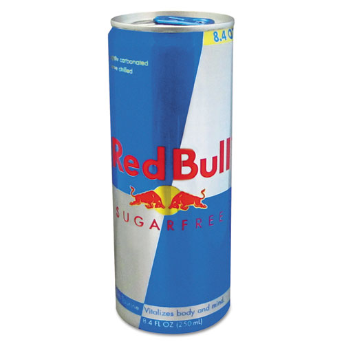 red bull energy drink sugar free 8 4 oz can 24 carton ebay. Black Bedroom Furniture Sets. Home Design Ideas