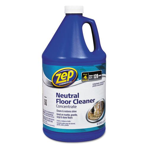 Zep commercial multi surface floor cleaner pleasant scent for Concrete floor degreaser
