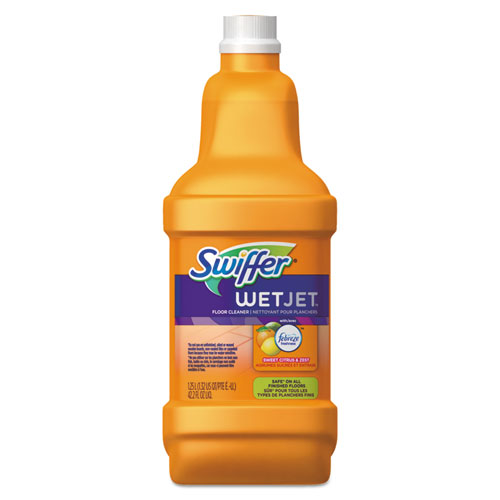 Swiffer Wetjet System Cleaning Solution Refill Wood