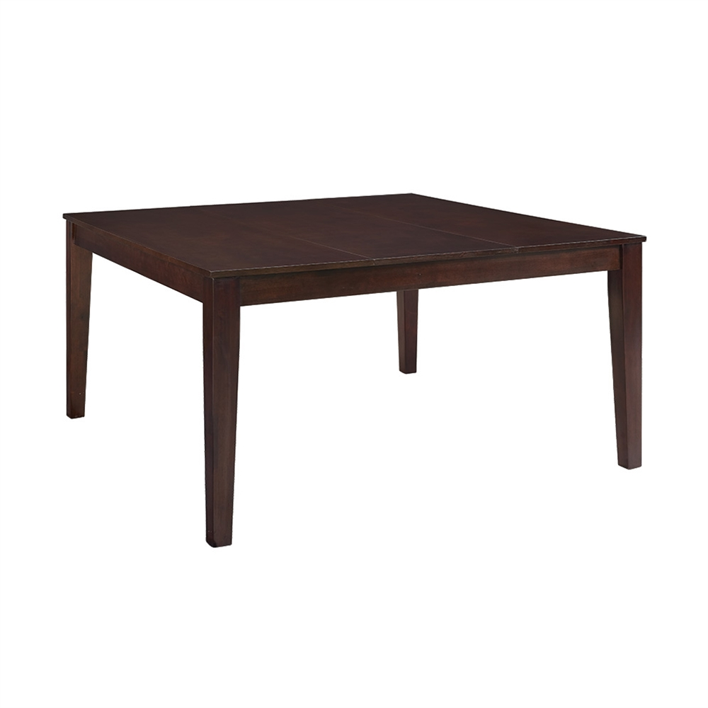 60 square dining table walker edison 60 quot cappuccino wood square dining table ebay 3937