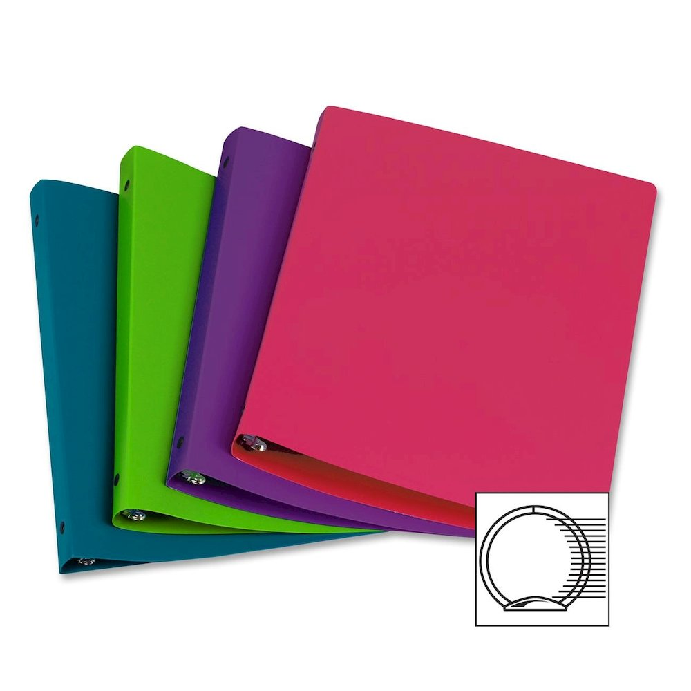 Samsill Poly Ring Binder