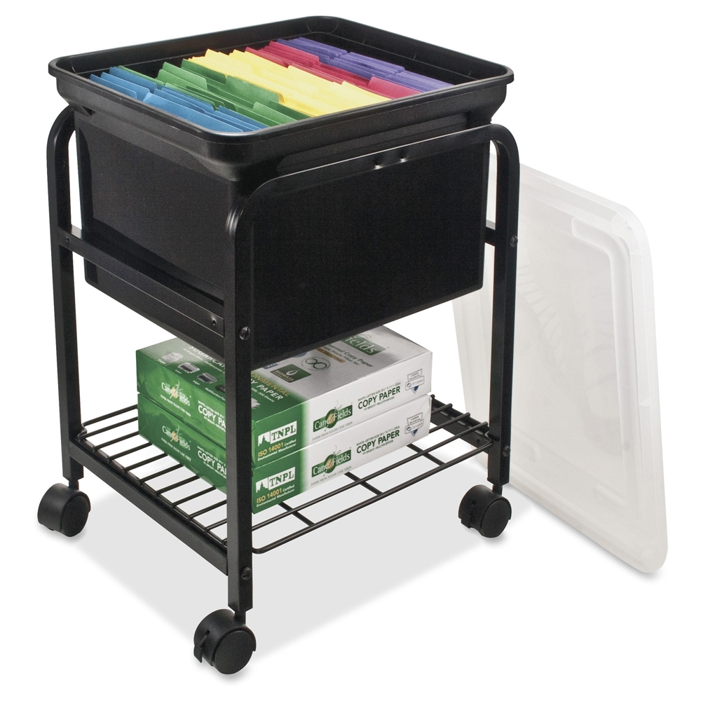 file cart with wheels advantus storage rolling file cart 4 casters metal 15382