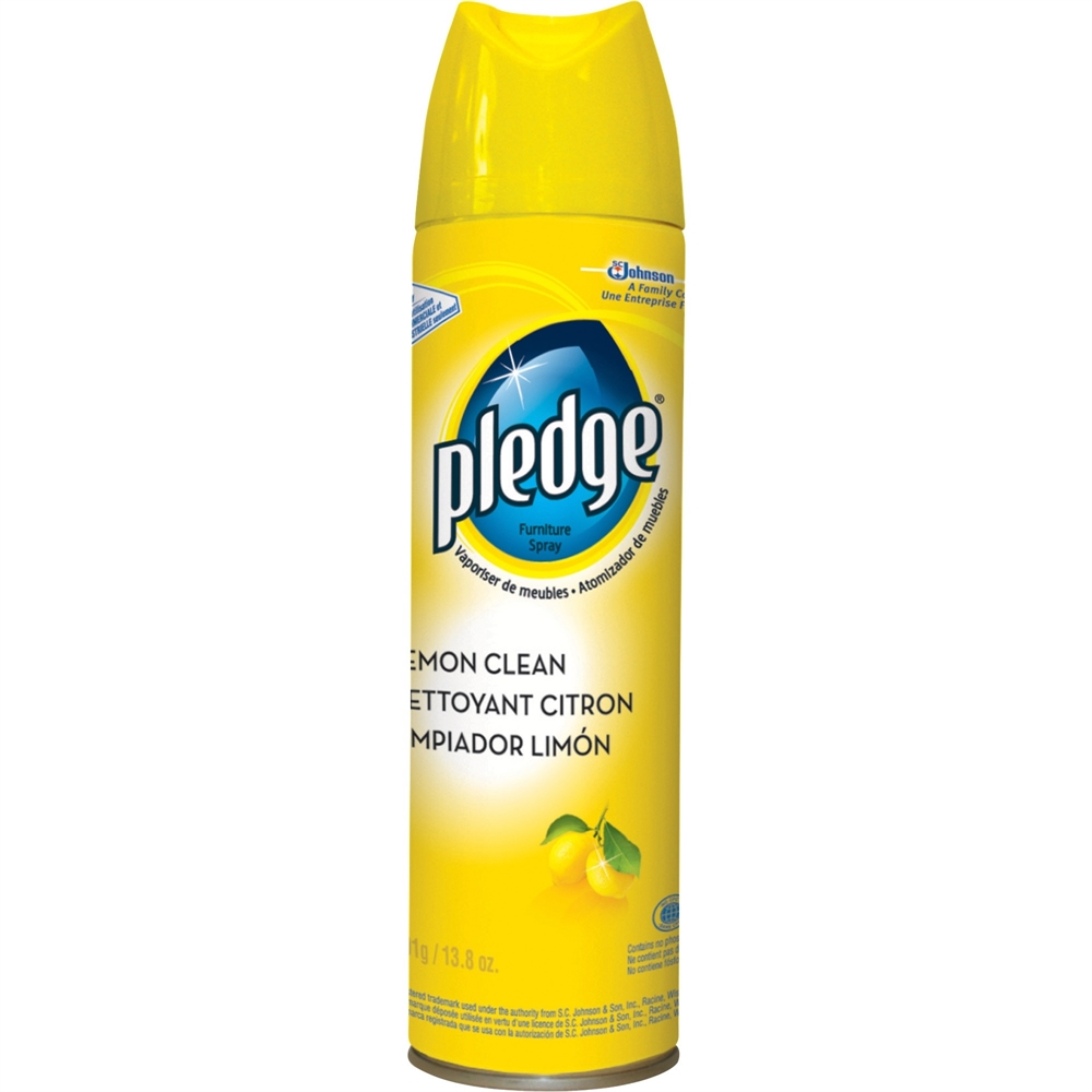 Pledge Lemon Clean Furniture Spray Spray Gal Fl Oz Lemon Ebay