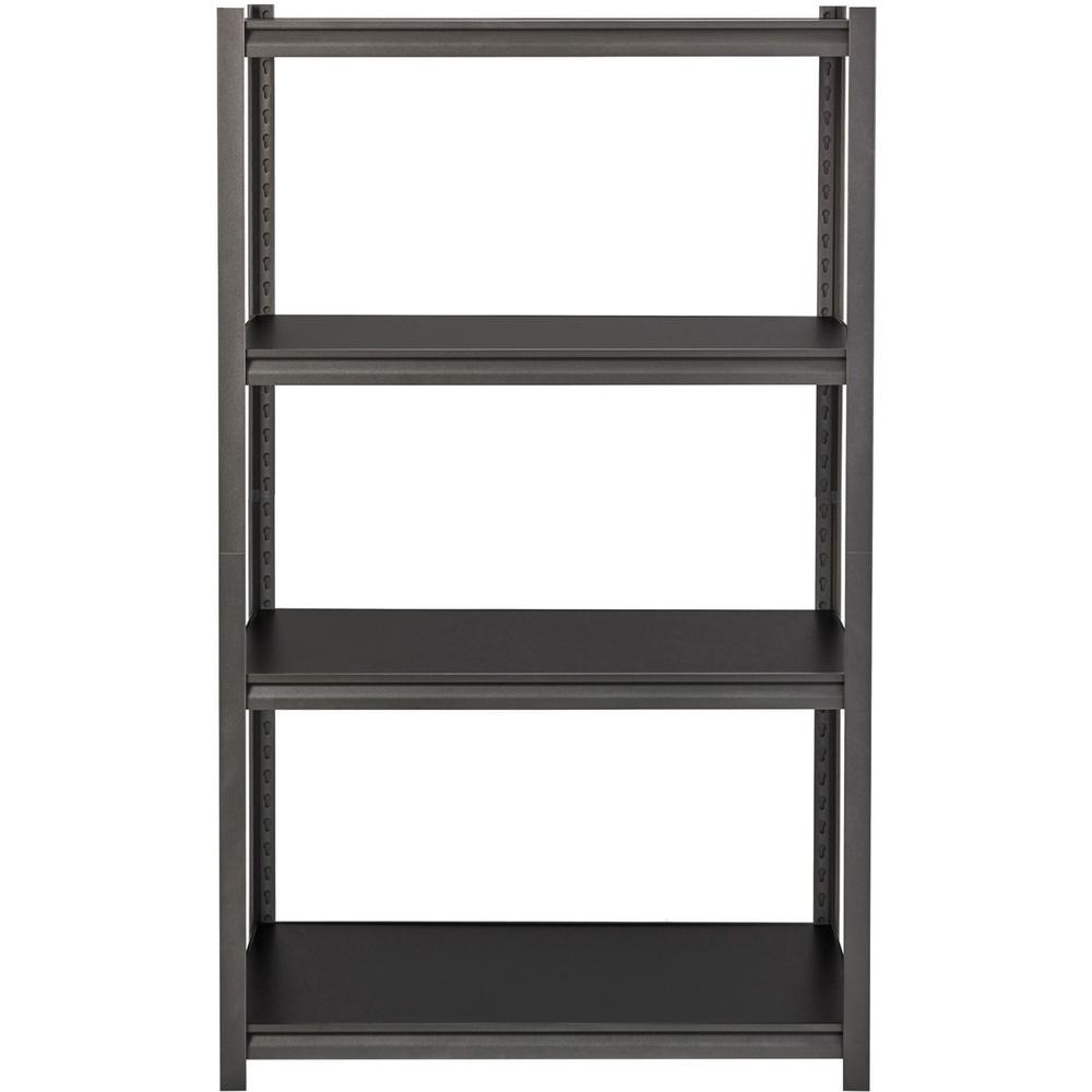 Lorell 3 200 Lb Capacity Riveted Steel Shelving 60 Height X 36 Width X 35255597005 Ebay
