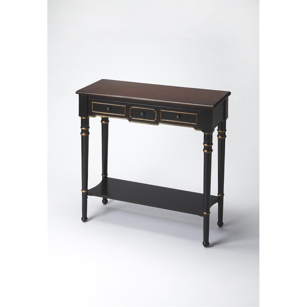 Butler banham caf noir console table caf noir ebay - Table console noire ...