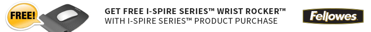 Get Free I-Spire Series™ Wrist Rocker™ with Qualifying I-Spire Series™  Product Purchase